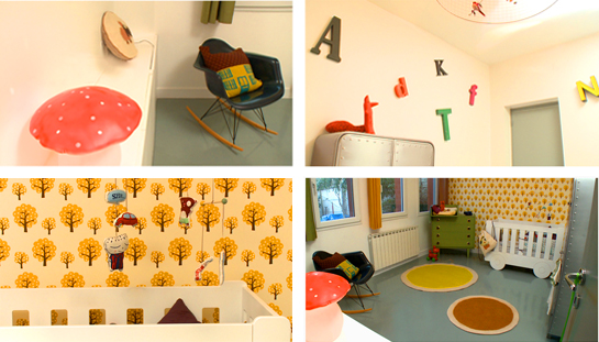 Deco tips discover nursery and baby room decorating for Chambre enfants vintage