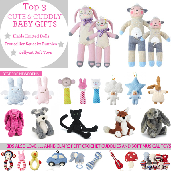 How to Choose a Gift for a New Baby: Gifts for Girls and Boys ...